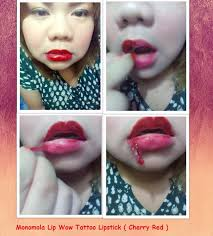 monomola lip wow tattoo lipstick review from uk to the