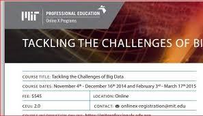 big data class mit big data class rocks nels hoenig pmp csqe cmq oe itil