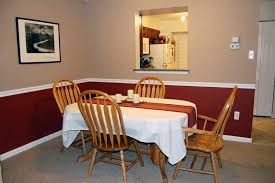 paint color ideas for dining room image dining room paints with chair rail white color wall