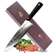 premium kitchen knives tuo ring d series japanese damascus chefs 8 inch kitchen knife