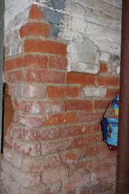 Efflorescence On Basement Walls What A Damp Basement Can Do To Brick Fine Homebuilding
