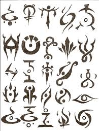 collection of 25 various symbol designs
