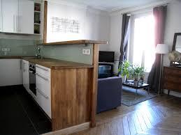 bar pour separer cuisine salon cuisine studio d archi le d architecte de nicolas sallavuard