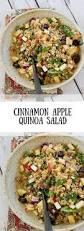 cinnamon apple quinoa salad love u0026 zest