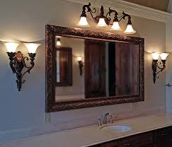 Framed Bathroom Mirror Framed Mirrors Buy Custom Mirrors Texas Custom Mirror
