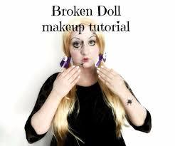 broken doll halloween makeup tutorial 17 steps with pictures