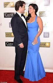 Gina Carano Boob Slip - critics choice awards 2013 henry cavill and gina carano make