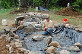 how to build a pondless waterfall httpblog alpinegrows com finish