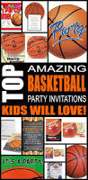 basketball printable birthday invitation dimple certificate of