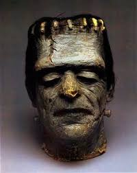 frankenstein mask vintage don post strange frankenstein mask frankenstein