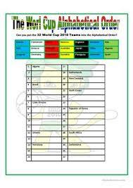 12 free esl alphabetical order worksheets