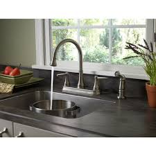 pfister glenfield two handle widespread lead free kitchen faucet