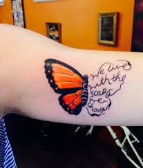 Depression Tattoos Ideas Self Harm Awareness U003c3 Erase The Stigma Butterflyproject