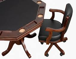Poker Table Chairs Wood Octagon Poker Table Set Poker Table And Chairs Set