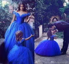blue dress 2017 royal blue toddler flower dresses for weddings