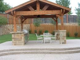 outdoor kitchen roof designs designed for your place of residence