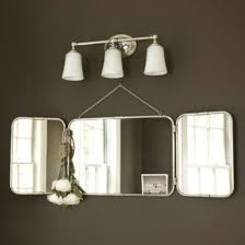 Vanity Mirror Tri Fold Enchanting 50 Tri Fold Wall Mirror Decorating Inspiration Of