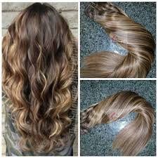 How To Make A Halo Hair Extension by Hair Extensions Balayage Hair Extensions Medium Brown Hair
