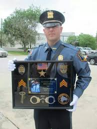 nj corrections officer correction officer shadow box shadow boxes pinterest shadow