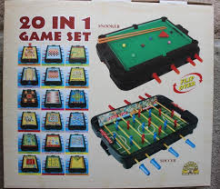20 in 1 game table snooker football bowling chess and more 20 in 1 game set for