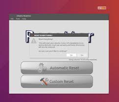 resetter u2013 reset ubuntu and linux mint to default settings