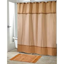 braided medallion gold shower curtain avanti linens