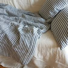 nautic striped duvet cover linen duvet cover from washed