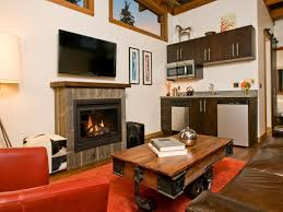 Designing A Small Living Room With Fireplace Decorating Ideas For Your Airstream Rv Trailer And More Hgtv U0027s