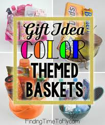 theme basket ideas diy gift baskets color themed gift baskets