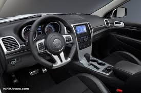grey jeep grand cherokee interior jeep grand cherokee wk2 2013 srt8 alpine and vapor editions