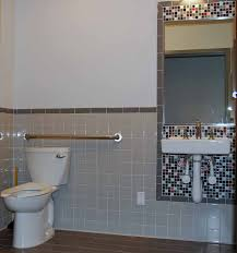 cheap u0026 cheerful tile design for an ada bathroom katz design group