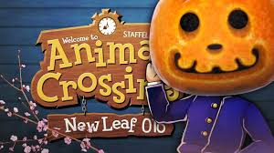 Halloween Animal Crossing by Halloween New Leaf