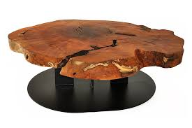 Pedestal Support Furniture Modern Home Furniture Design Feat Wood Slice Coffee