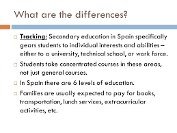 educational system in spain señor mascari educational goals