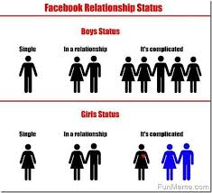 Girls On Facebook Meme - funny facebook relationship status meme funny pinterest funny