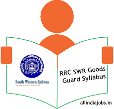 exam pattern of goods guard rrc swr goods guard syllabus 2017 exam pattern freshers jobs