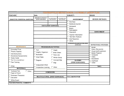8 lesson plan template doc bookletemplate org weekly google docs