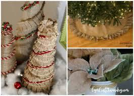 burlap christmas 25 simply beautiful burlap christmas crafts and decor ideas