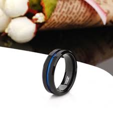 thin blue line wedding band popular thin wedding bands buy cheap thin wedding bands lots from