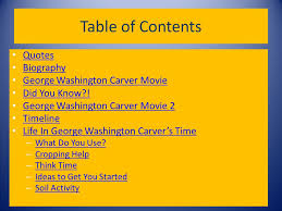 biography george washington carver as the century turns anne carter toss section ppt download