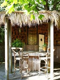 Tiki Outdoor Furniture by Backyard Tiki Bar Houzz