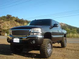 lifted gmc 1500 2004 lifted gmc sierra with 35s google search oldies done up