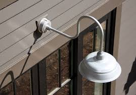 Outdoor Gooseneck Barn Lights Outdoor Gooseneck Lights Silver New Lighting Function Outdoor