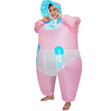 Inflatable Halloween Costumes Cute Inflatable Baby Costume Suit Blow Up Fancy Dress Sales