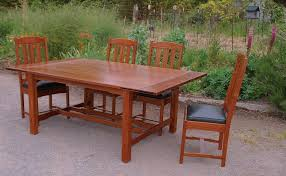 stunning craftsman style dining room table photos home design