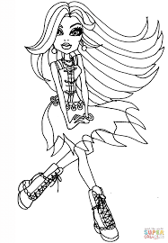 spectra vondergeist coloring page free printable coloring pages