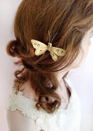 butterfly hair clip mariposa gold jeweled butterfly hair clip n2