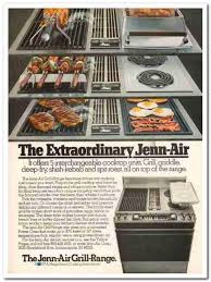 Jennaire Cooktop Ebluejay Jenn Air Corp 1977 Extraordinary Cooktop Unit Appliance