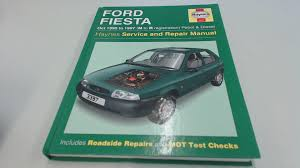 ford fiesta 95 97 service and repair manual haynes service and