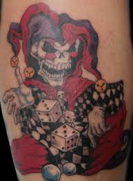 skull jester tattoos pictures to pin on tattooskid